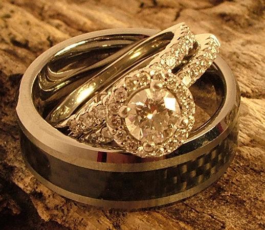 Alyans Yüzük Çeşitleri - Tek Taş Pırlanta Evlilik Yüzükleri - wedding rings wrTR- (19)